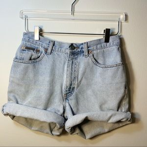 Calvin Klein Enzyme Wash Jean Shorts High Rise 8